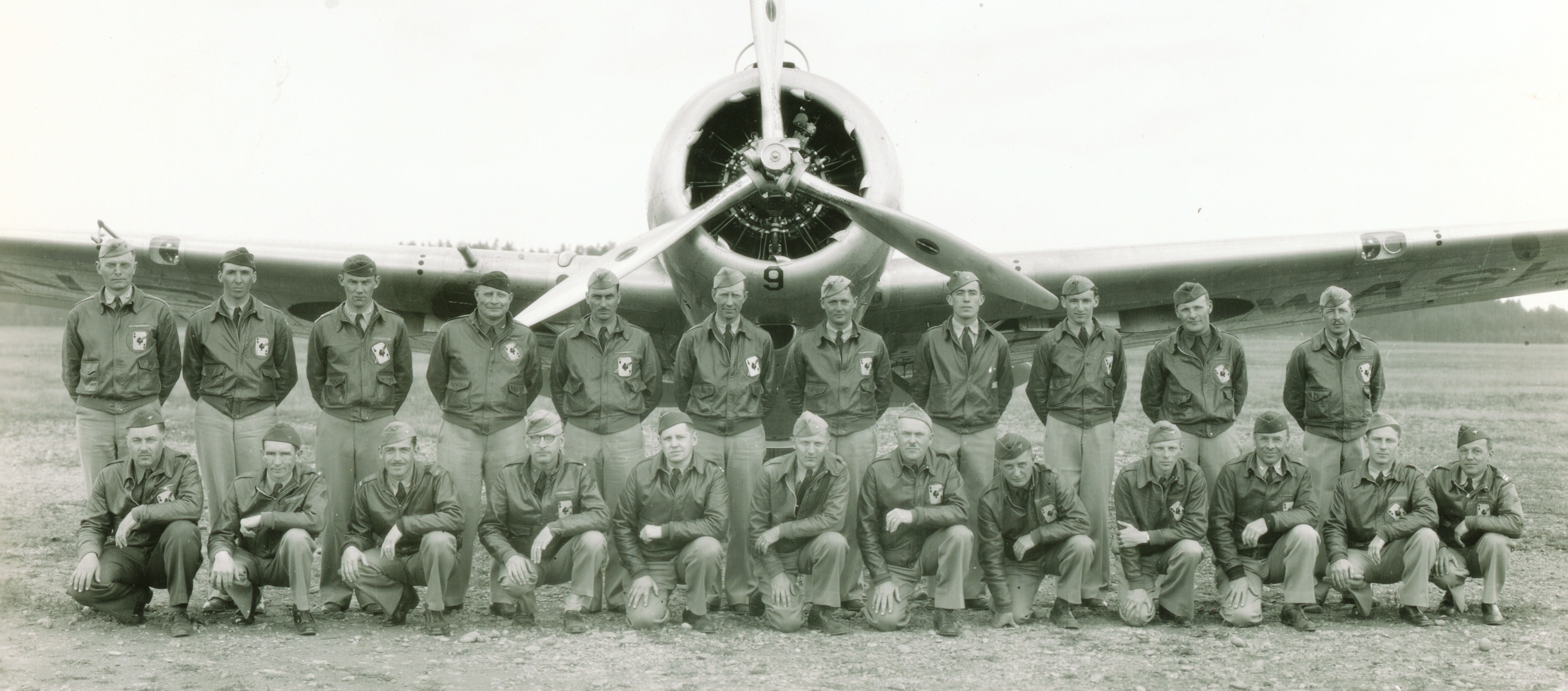 Officers-of-the-116th-Obsn-Sqdn-1939-Camp