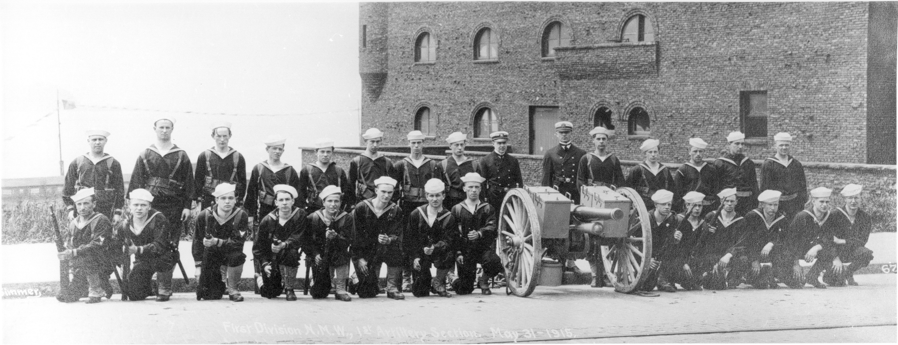 Naval Militia 1st Division, 1st Artillery, May 31,1915