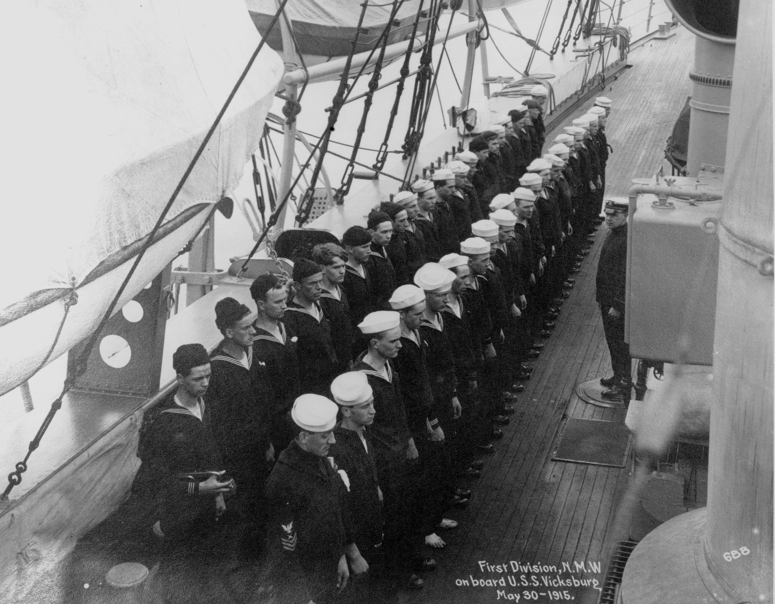 Naval Militia Washington crew 1915
