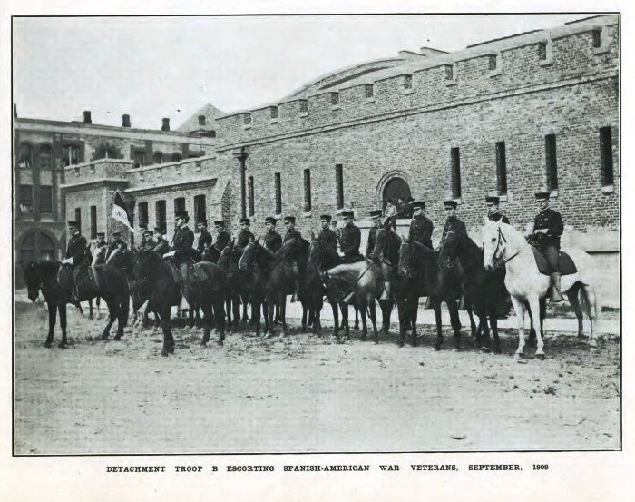 Tac Armory Sept 1909 Troop B