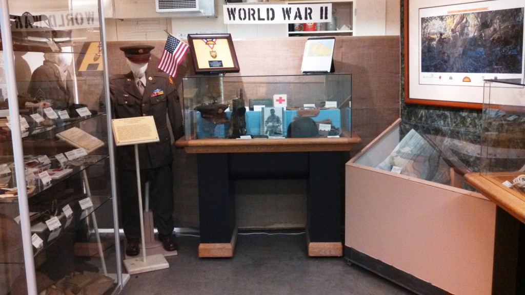 Main gallery WWII display