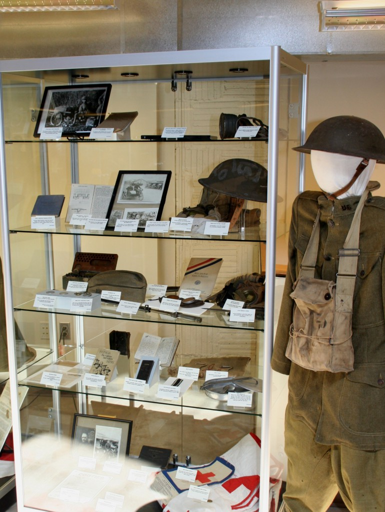 WWI display